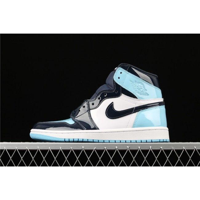 Men & Women Air Jordan 1 High ASG White Black Blue