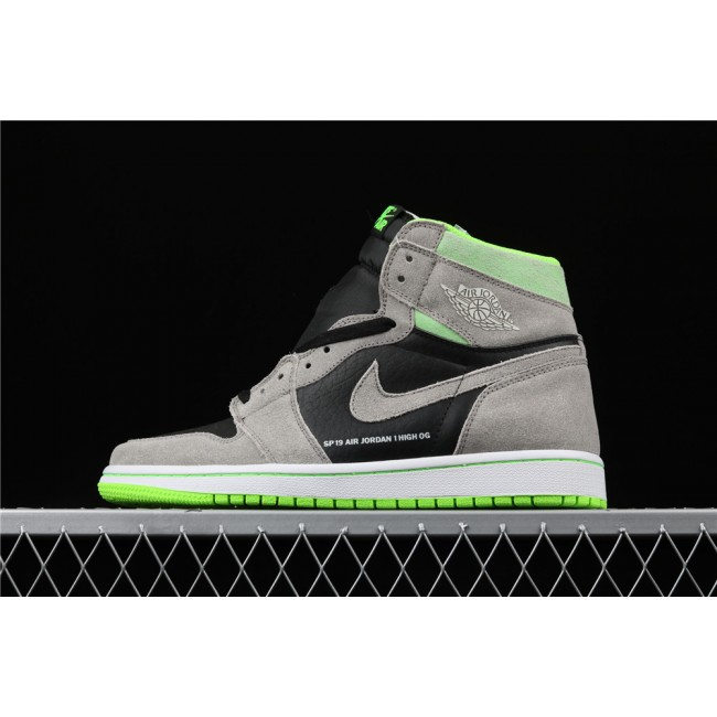 Men & Women Air Jordan 1 High Retro OG Neutral Green