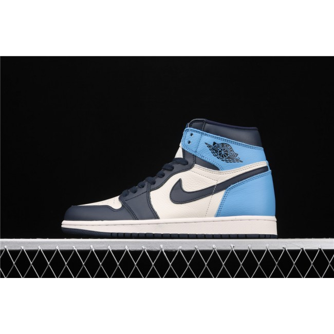Men & Women Air Jordan 1 High X OG Obsidian