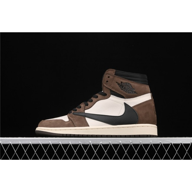 Men & Women Air Jordan 1 X Travis Scott High OG