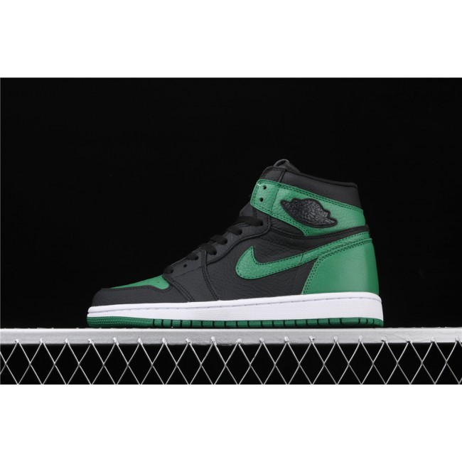 Men Air Jordan 1 High Pine Green