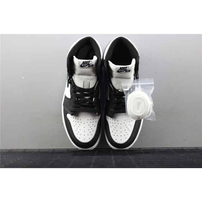 Men Air Jordan 1 Retro High OG Black White