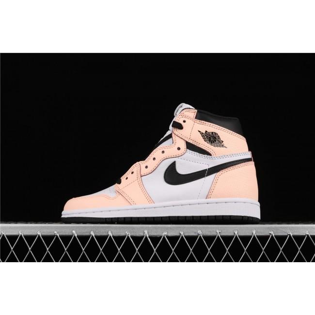 Women Air Jordan 1 Retro High OG Pink Green