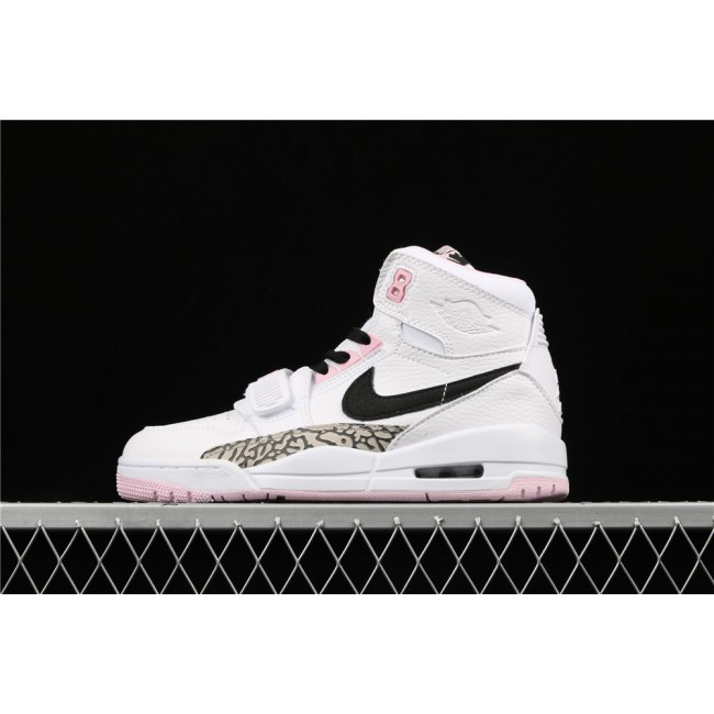 Women Don C x Air Jordan 1 High Pink White
