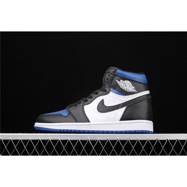 Men & Women X Air Jordan 1 High 85 Black White Blue