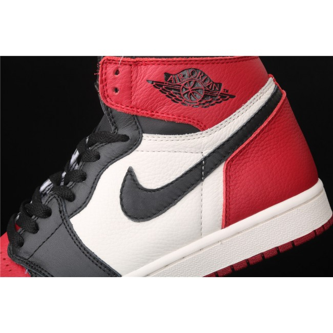 Men & Women X Air Jordan 1 Retro High OG Black Red