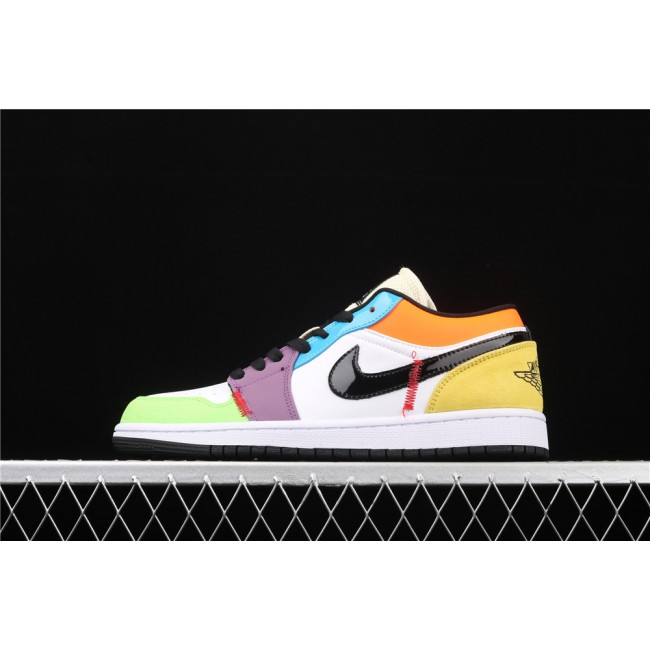 Men & Women Air Jordan 1 Low Mixed Color
