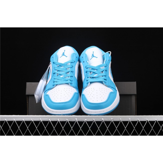 Men & Women Air Jordan 1 Low Shadow Skyblue