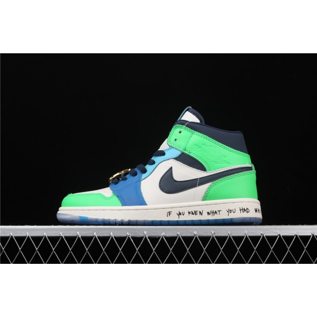 Men & Women Melody Ehsani x Air Jordan 1 Mid Fearless