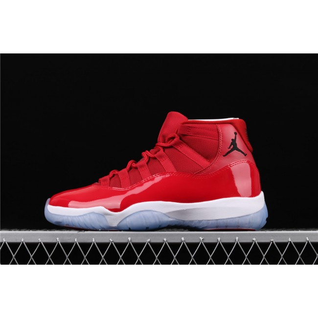 Men Air Jordan 11 Gym Light Red White