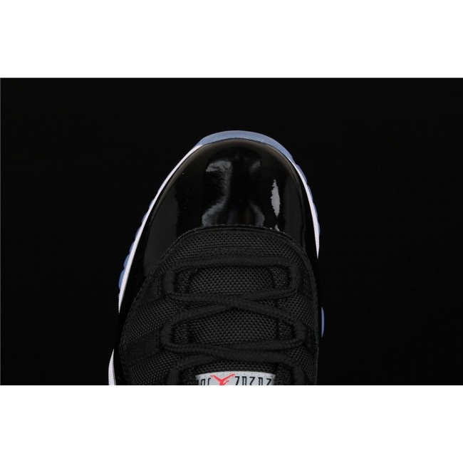 Men Air Jordan 11 Low Bred In Black White
