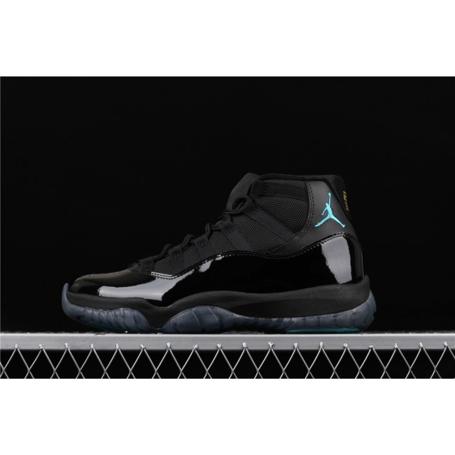 Men Air Jordan Retro 11 Gamma In Light Black
