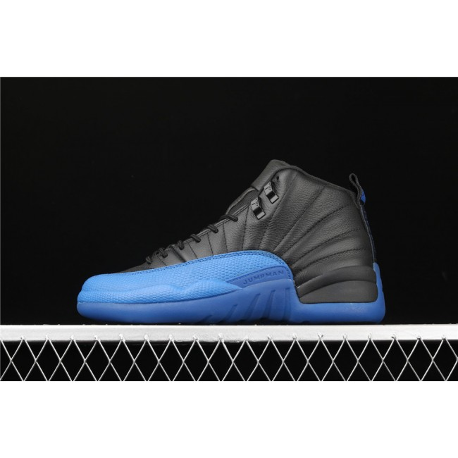 Men Air Jordan 12 Game Royal In Black Blue