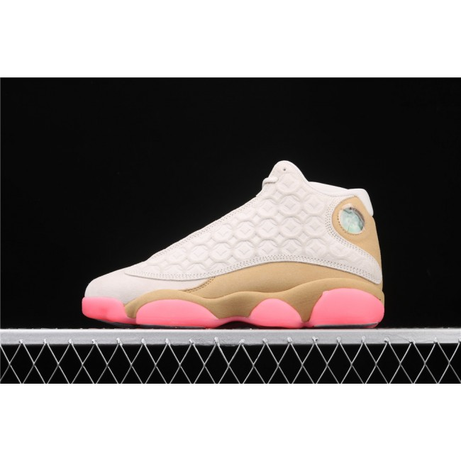 Men & Women Air Jordan 13 RETRO In Chestnut Pink