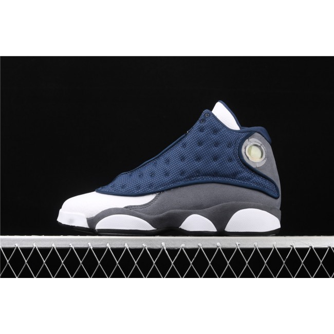 Men Air Jordan 13 Flint GIGI In Blue White