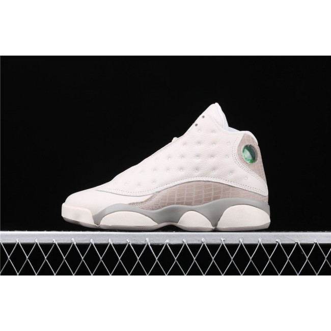 Women Air Jordan 13 Phantom In Milky White