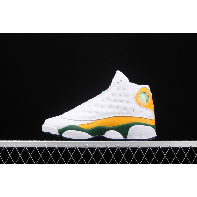 Women Air Jordan 13 Playground In White Colorful
