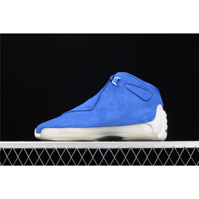Men Air Jordan 18 OG ASG In Blue White