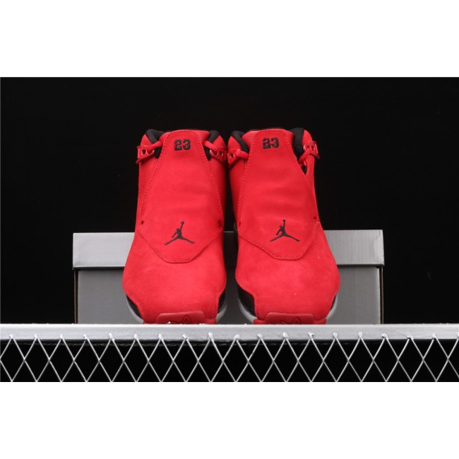 Men Air Jordan 18 OG ASG In Red Black