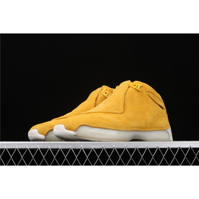 Men Air Jordan 18 OG ASG In Yellow
