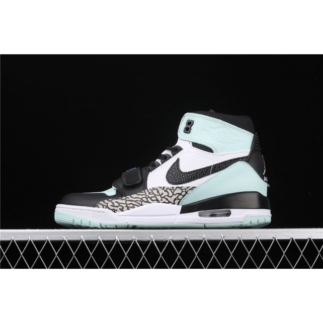Men & Women Air Jordan Legacy 312 In Black White