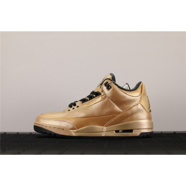 Men Air Jordan 3 Drake 6IX In Golden
