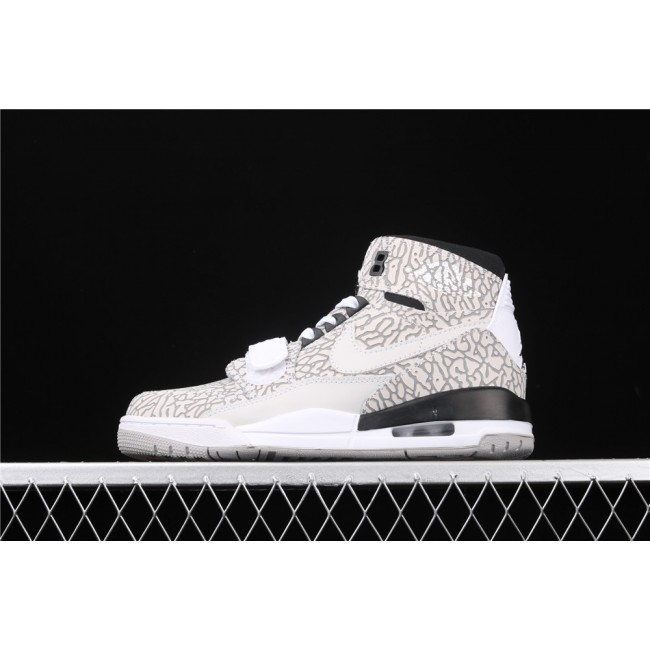 Men Air Jordan Legacy 312 Burst In Sand White
