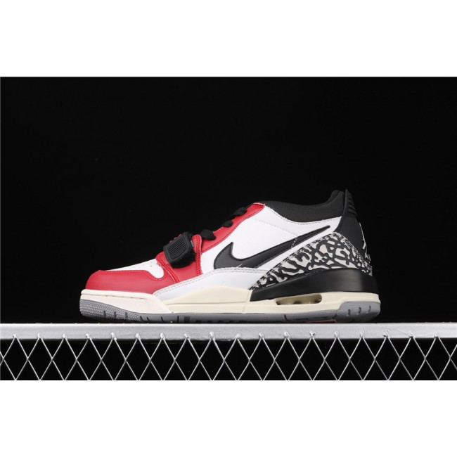 Men Air Jordan Legacy 312 Low In Red White Black Logo