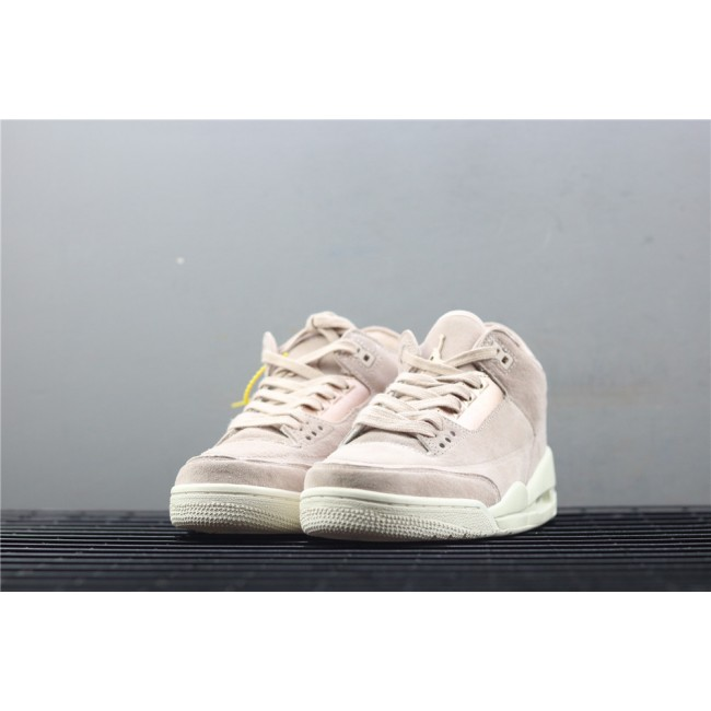 Women Air Jordan 3 Particle Beige In Rose Golden