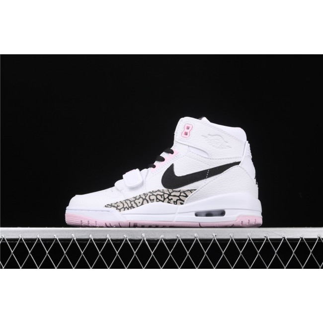 Women Air Jordan Legacy 312 In Pink White