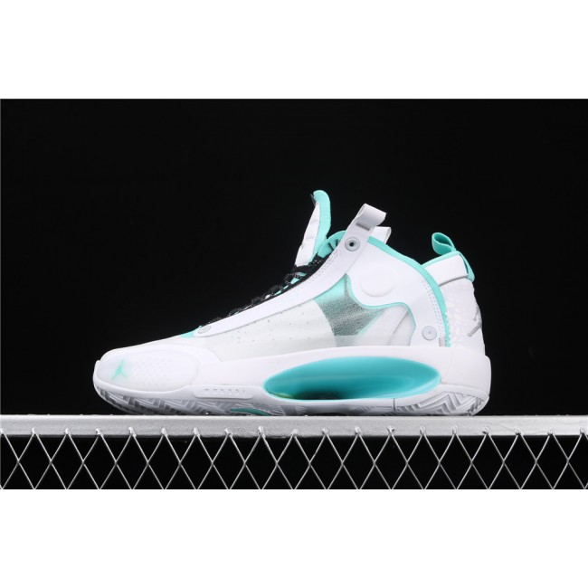Men Air Jordan 34 Eclipse White Skyblue