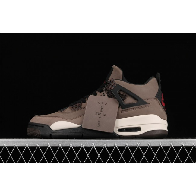 Men Air Jordan 4 Retro Flight In Brown