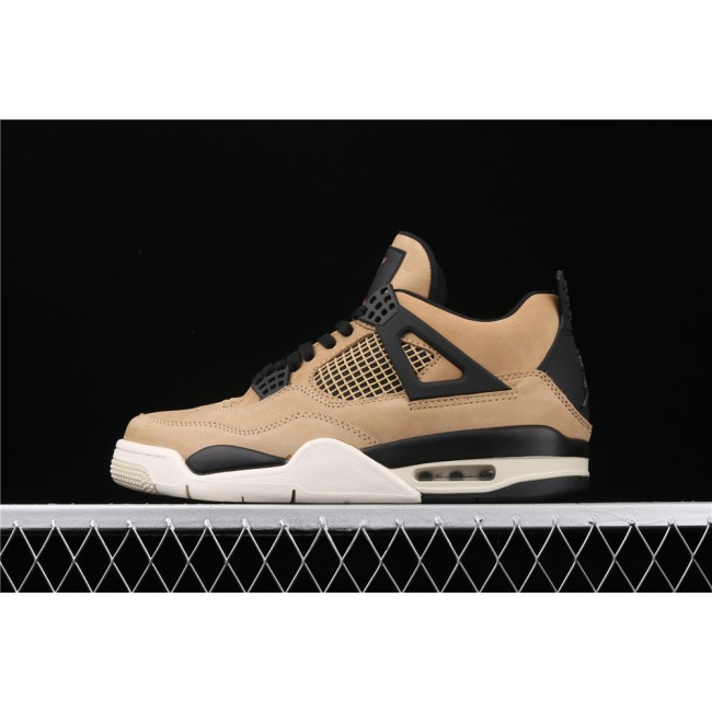 Men Air Jordan 4 Retro Mushroom In Brown