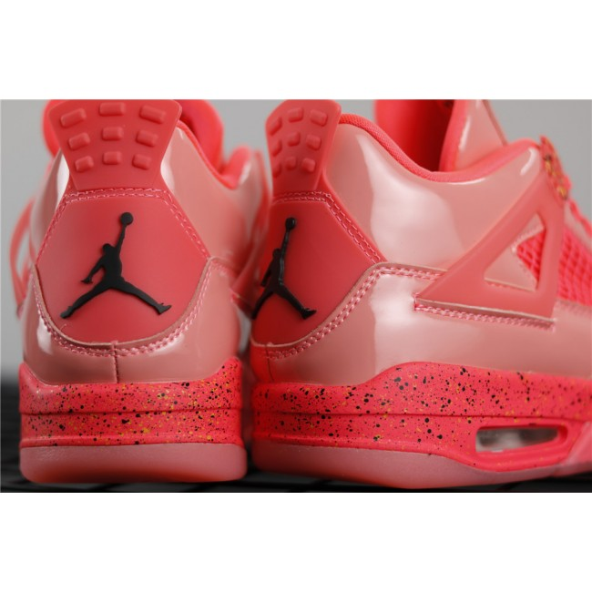 Men Air Jordan 4 Retro NRG In Orange Red