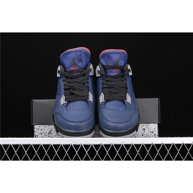 Men Nike Air Jordan 4 Eminem Wntr Loyal Blue