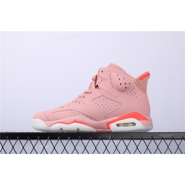 Men & Women Air Jordan 6 x Aleali May In Pink