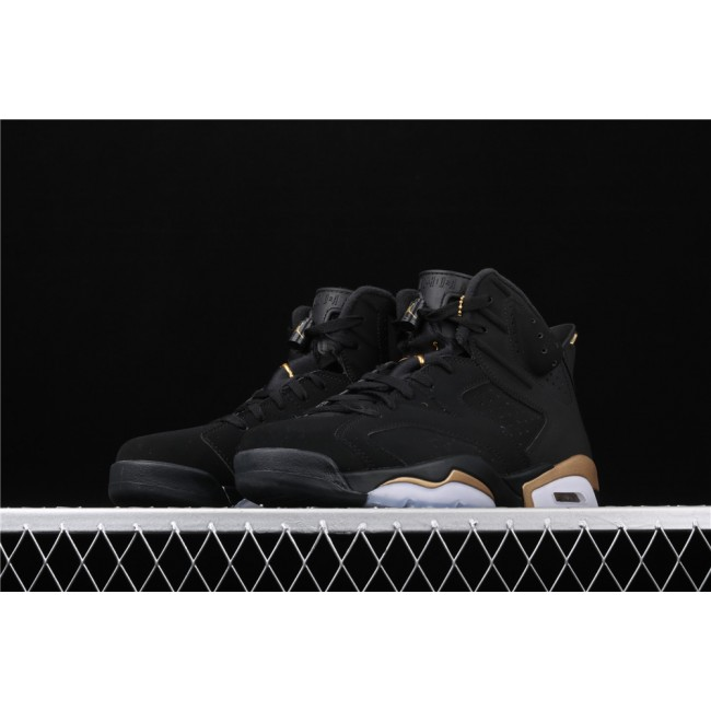 Men Air Jordan 6 DMP In Black Golden